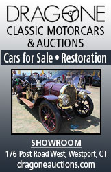 Dragone Classic Motorcars and Auctions, restorations and cars for sale