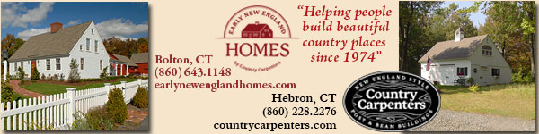 Early New England Homes and Country Carpenters