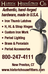 Historic Housefitters Co., authentic hand forged hardware made in America, the U.S.A.