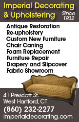 Imperial Decorating and Upholstery - Antique Restoration