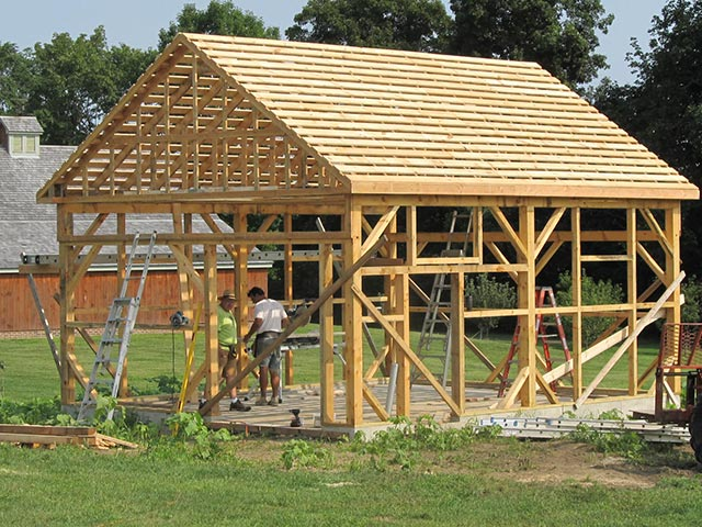 Storage Shed Framed