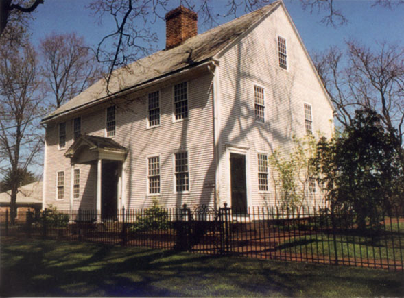 Martha A. Parsons House in Enfield CT