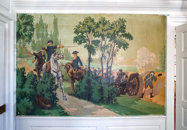 Webb House Mural of George Washingtion